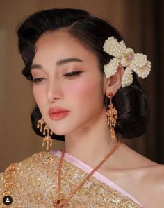 """แม่ไม่ได้แค่แซ่บอย่างเดียว """"แพท ณปภา"""" สวยสง่าในชุดไทยประยุกต์ถ่ายแบบชุดเจ้าสาว"""