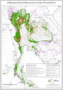 กาญจนบุรี ลำปาง ตาก ระอุทั้งประเทศ จุดความร้อนพุ่งกว่า 4,500 จุด