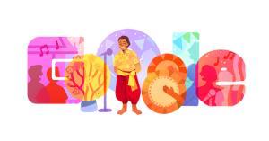 """Google ร่วมเชิดชูครูเพลงลำตัดและศิลปินแห่งชาติ """"หวังเต๊ะ"""" บน Doodle"""