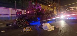 สารวัตรกำลังพล (ตร.) ขี่ จยย.ชนท้ายรถบรรทุก 6 ล้อ เสียชีวิต