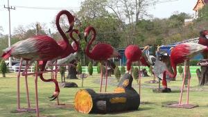 ชวนเที่ยวงานมหกรรมหุ่นฟางนกชัยนาท งานประเพณีหนึ่งเดียวในโลก