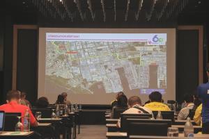 กลุ่มไทยออยล์แจงมาตรการการขนส่งชิ้นส่วนโครงสร้างและอุปกรณ์เข้าพื้นที่ก่อสร้างโครงการพลังงานสะอาด