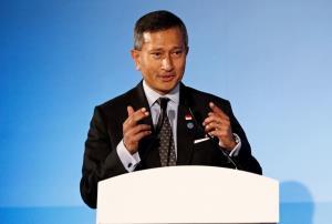 วิเวียน บาลากริชนัน รัฐมนตรีกระทรวงการต่างประเทศสิงคโปร์
