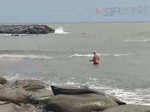 ก้อนน้ำมันทะลักหาดหัวไทรหนัก นักท่องเที่ยวต่างชาติชี้เป็นปัญหาของประเทศที่ต้องแก้ไข