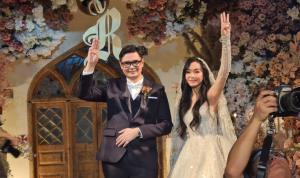 ภาพ บรรยากาศงานแต่งงาน ของ นายรังสิมนต์ โรม ส.ส.พรรคก้าวไกล จาก Pravit Rojanaphruk. @PravitR