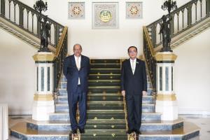 """""""ประยุทธ์"""" หารือเอกอัครราชทูตอียิปต์ฯ เห็นพ้องสนับสนุนความร่วมมือแลกเปลี่ยนประสบการณ์ด้านการท่องเที่ยวควบคู่ไปกับการควบคุมโรค"""
