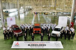 มิตซูบิชิ ฉลองความสำเร็จการผลิตรถยนต์ครบ 6 ล้านคัน