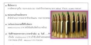 กรมการปกครอง ทุ่มร้อยล้าน ติดอาวุธปืนเล็กยาว 5.56 มม. 1,170 กระบอก แจก อส.ทั่วประเทศ