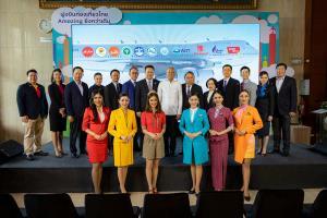 """""""ฝูงบินท่องเที่ยวไทย Amazing ยิ่งกว่าเดิม"""" จัดเต็มโปรฯเด็ด ตั๋วราคาพิเศษ จาก 6 สายการบิน"""