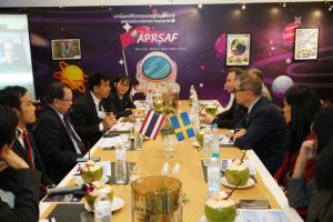 สวีเดนปักหมุดให้ไทยเป็น HUB ด้านอุตสาหกรรมอวกาศในเอเชียแปซิฟิก