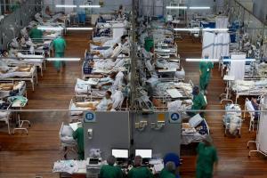 เข้าขั้นวิกฤต! ยอดตายโควิดในบราซิลเกิน 3 พันราย 2 วันติด เตือนระบบสาธารณสุขใกล้ล่มสลาย
