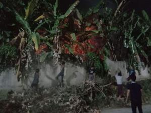 หวิดวอด! ไฟไหม้หลัง รพ.ท่าขี้เหล็ก จนท.พม่าห้ามชาวบ้านรวมกลุ่มดับ แถมยิงเจ็บ 1