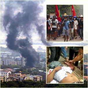 In Clip: สื่อนอกรายงาน พม่าโจมตีทางอากาศหนัก ชนกลุ่มน้อยกะเหรี่ยง 3,000 หนีตายทะลักเข้าไทย