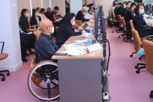 รมช.แรงงาน นำทัพถกแผนพัฒนาทักษะฝีมือคนพิการรองรับการประกอบอาชีพ