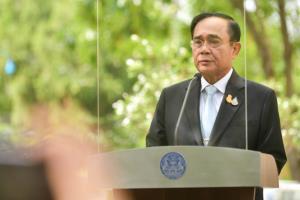 """""""บิ๊กตู่"""" เตรียมพร้อมรับคนไทยจากพม่า ชี้ห่วงโซ่ค้าขายแดนปกติ ยันมีมนุษยธรรมดูแล"""