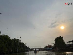 อากาศร้อนทั่วไทย เหนือร้อนจัดถึง 41 องศา มีฝนฟ้าคะนอง-ลมแรงบางแห่ง ใต้อ่วมโดนฝนถล่มหนัก