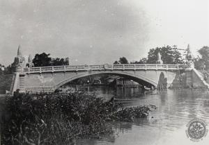 สะพานเฉลิมหล้า ๕๖ ที่ประตูน้ำ