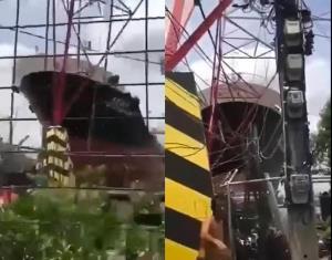 ชาวบ้านท่าน้ำพระประแดงเสียวสันหลังวาบ เรือสินค้าขนาดใหญ่แล่นเกือบพุ่งชน เผยมักเกิดเหตุหวาดเสียวประจำ