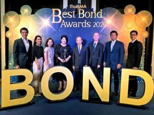 พันธบัตรรัฐบาลเพื่อความยั่งยืน ได้รับรางวัลจากสมาคมตลาดตราสารหนี้ฯ ในงาน Best Bond Awards 2020