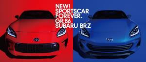 โฉมใหม่ Toyota GR86 และ Subaru BRZ อัพให้แรงขึ้น