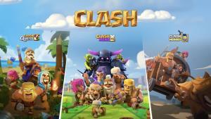 """ผู้สร้าง Clash Royale เปิดตัว 3 เกมใหม่ใช้ชื่อ """"Clash"""""""