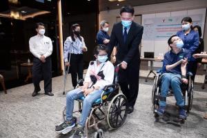 """บีทีเอสสนับสนุน """"โครงการจ้างเหมาบริการดูแลคนพิการทดแทนชั่วคราว"""""""