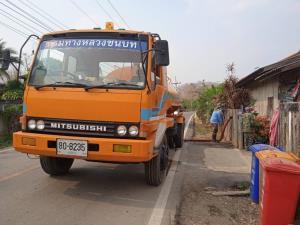 ทช.สนับสนุนรถบรรทุกน้ำ บรรเทาความเดือดร้อนช่วงภัยแล้ง