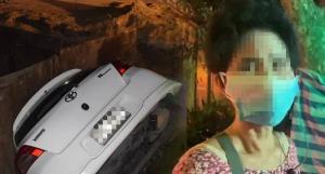 แม่ลูกหวิดดับขับเก๋งตกบ่อขุดวางสายไฟรัชดา-ท่าพระ 17 พบไร้ป้ายแจ้งเตือน