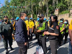 เบตงเปิดศูนย์ปฏิบัติการป้องกันและลดอุบัติเหตุทางถนนช่วงเทศกาลสงกรานต์ 2564