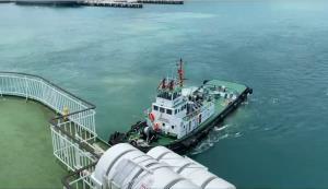 """กรมเจ้าท่าทดสอบความพร้อมเรือ The Blue Dolphin เตรียมเปิดเดินเรือ """"สัตหีบ-สงขลา"""""""
