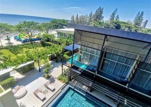 """เปิดวาร์ปโรงแรมสุดชิคปลายหาดบางแสน """"บีชวอล์ค"""" รีโนเวตใหม่หัวใจติดทะเล"""