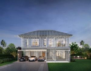 รูปแบบบ้านโครงสร้างเหล็ก