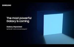"""Samsung พร้อมสู้ Apple! จัดงานเปิดตัวอุปกรณ์ใหม่ตระกูลกาแล็กซี่ที่ """"ทรงพลังที่สุด"""" 28 เม.ย."""
