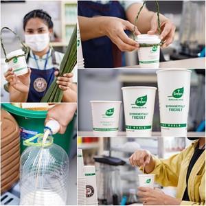 เซเว่น อีเลฟเว่น ชูนโยบาย 7 Go green เดินหน้าลดขยะลดถุงพลาสติกใช้ครั้งเดียวทิ้ง ณ เกาะพะงัน