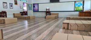 ผู้ว่าฯนนท์ เตรียมความพร้อม รพ.สนาม 700 เตียง ร.ร.นนทบุรีวิทยาลัย รองรับผู้ป่วยโควิด-19