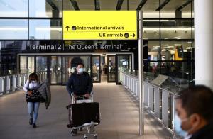 หวั่นแพร่โควิด! อังกฤษห้ามคนเดินทางจาก 'อินเดีย' เข้าประเทศ เริ่ม 23 เม.ย.