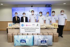 กลุ่มบริษัทที่นอนโลตัสส่งมอบที่นอนและเครื่องนอนช่วยโรงพยาบาลรัฐ และโรงพยาบาลสนามทั่วประเทศ
