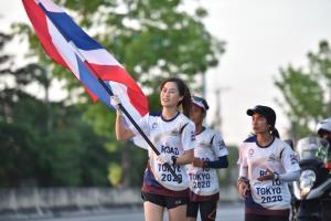 วิ่งธงชาติไทยถึงราชบุรี พิชิตภารกิจ 91 กม. รวม 25 วัน วิ่งไป 1,922 กม.