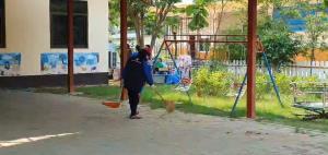 จนท.เร่งปรับศูนย์เด็กเล็ก จัดตั้งโรงพยาบาลสนามรับคลัสเตอร์เด็กเล็กและครูติดโควิด-19 เพียบ