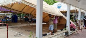 """หัวหินตั้ง """"ครัวพระราชทาน"""" ปรุงอาหารช่วยเหลือผู้เดือดร้อนจากโควิด-19 จังหวัดประจวบฯ วันละ 3,000 กล่อง"""