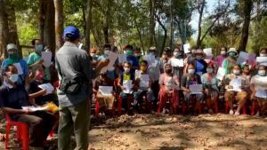 ส.ป.ก.ป่าไม้ร่วมพีมูฟพิสูจน์สิทธิที่ดินช่วยชาวบ้านมีที่ดินทำกิน