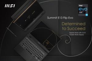 สู่ความสำเร็จครั้งใหม่ในโลกธุรกิจ กับแลปท็อป MSI Summit E13 Flip Evo