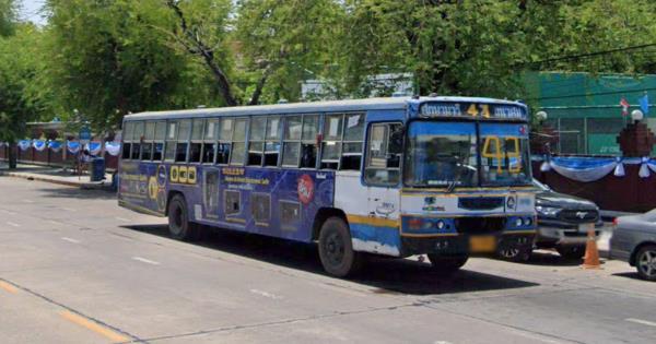 ปิดตำนาน! รถเมล์สาย 43 ศึกษานารี-เทเวศร์ หยุดกิจการสายฟ้าแลบ ผู้โดยสารน้อยแบกต้นทุนไม่ไหว