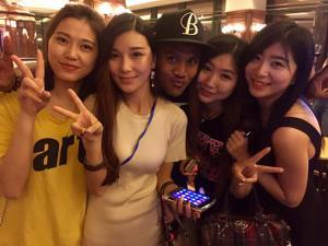แฟนคลับสาวๆ ที่ญี่ปุ่น