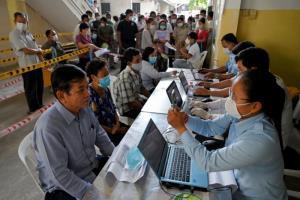 กัมพูชาทำสถิติใหม่เจอผู้ป่วยติดเชื้อโควิดวันเดียวพุ่ง 698 คน