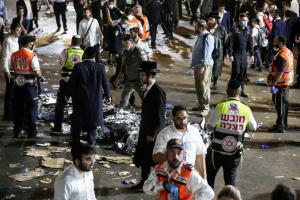 สลด! ชาวยิวเหยียบกันตายกว่า 40 ศพ ระหว่างพิธีทางศาสนาในอิสราเอล