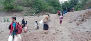 ตีสี่ยังมีบอมบ์! พม่า-KNU ปะทะต่อเนื่อง ชาวกะเหรี่ยงหนีเข้าไทยเพิ่ม