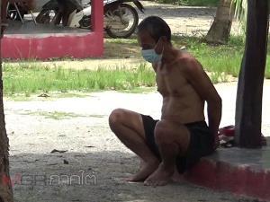 พิษยาเสพติด! น้องชายเมายาบ้าคลุ้มคลั่งใช้ขวานจามหัวพี่สะใภ้ดับ