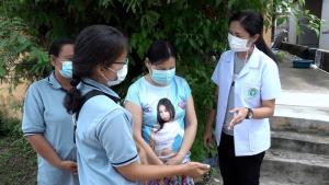 อสม.เร่งสำรวจกลุ่มผู้สูงอายุและป่วยเรื้อรัง 7 โรคลงทะเบียนหมอพร้อมฉีดวัคซีนโควิดเฟส 2
