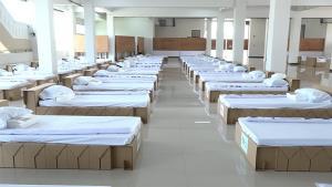 เปิดโรงพยาบาลสนามขอนแก่นแห่งที่ 2 รองรับผู้ป่วยเพิ่มอีก168 เตียง ยอดป่วยสะสมพุ่ง 412 ราย